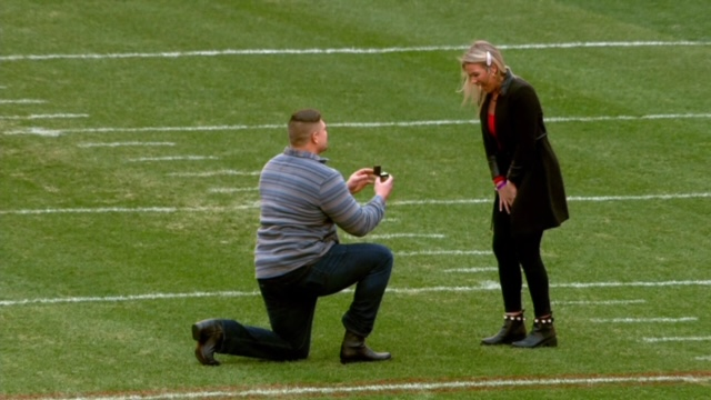CRAIG COUNTY GIRL ENGAGED TO BROWNS GUARD AND VIRGINIA TECH GRADUATE WYATT TELLER