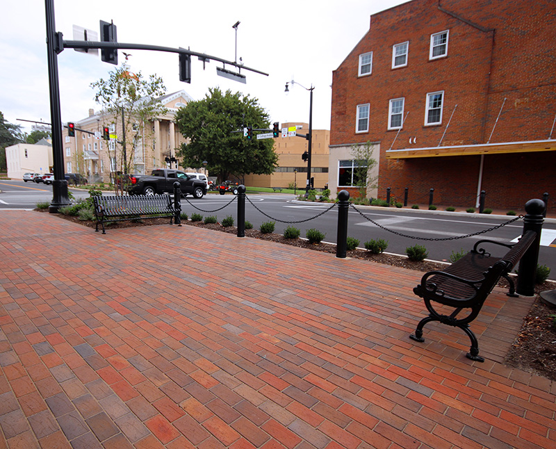 Downtown construction on Main Street expected to be finished by April
