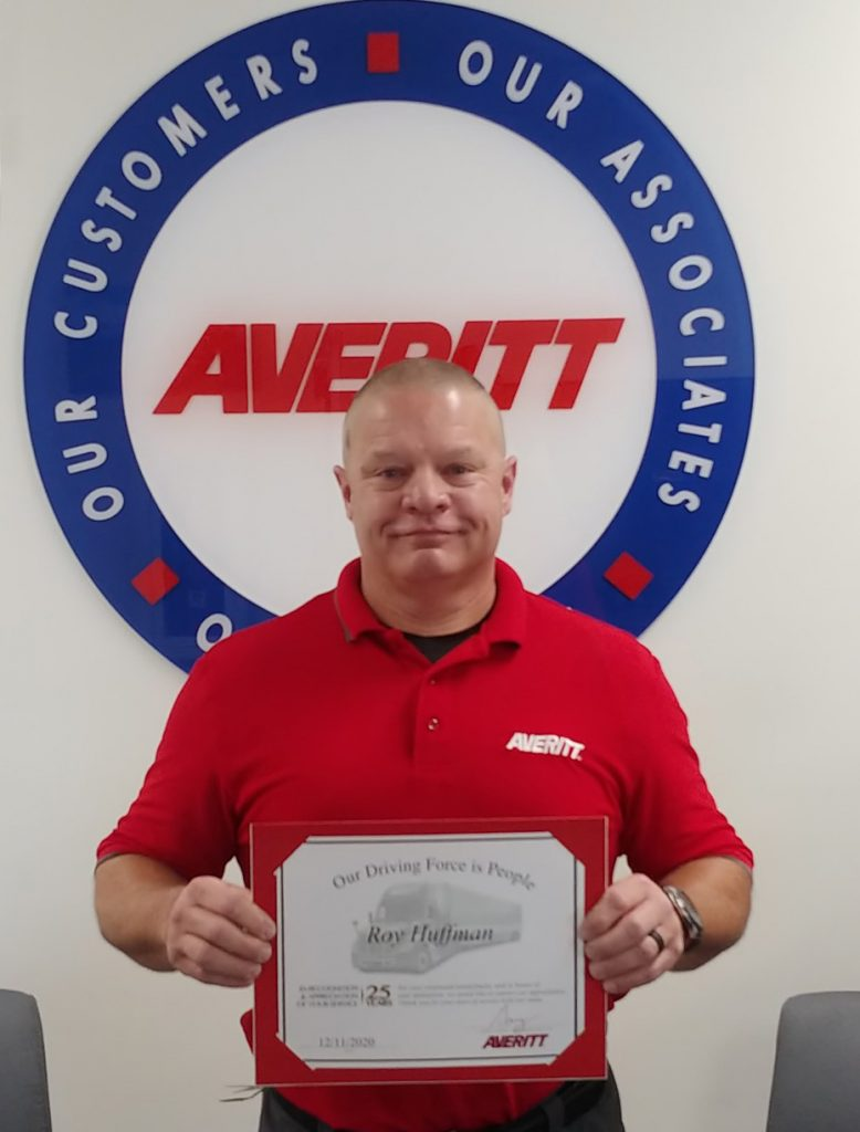 Averitt honors Roanoke-area associate for 25 years of service