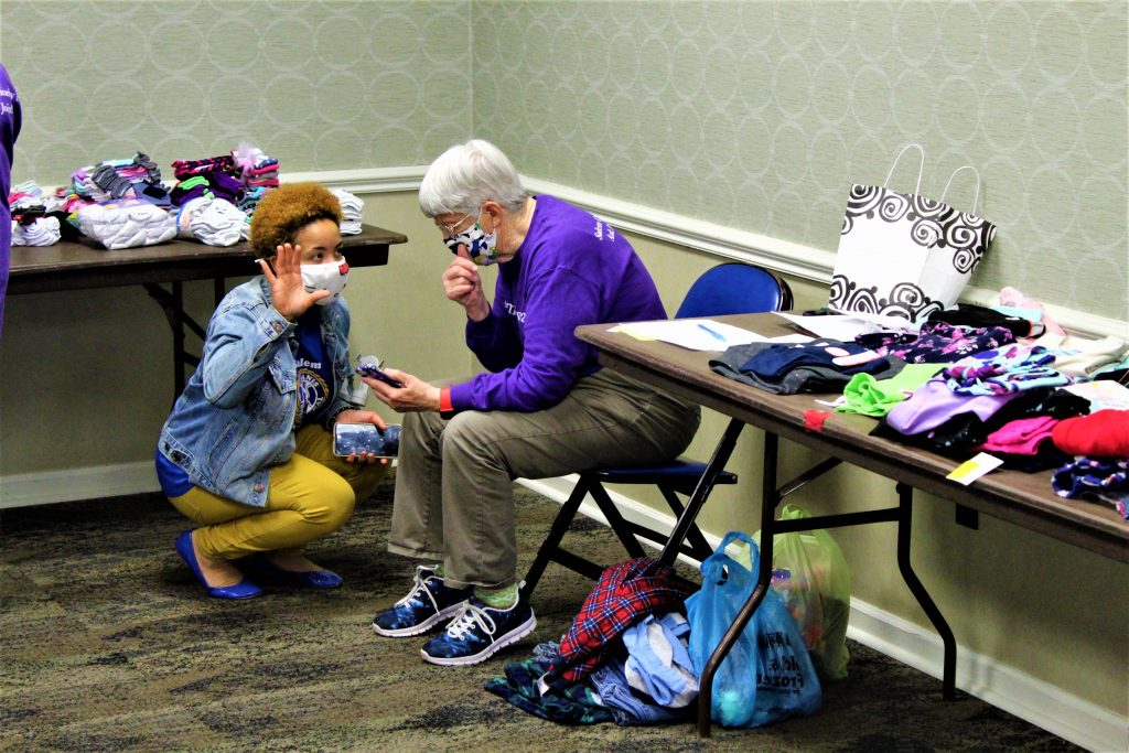 Salem civic groups combine resources to assist local schools with clothing donations